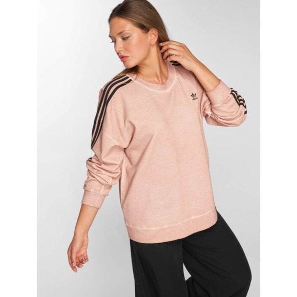 on wholesale sale online save up to 80% Adidas Jumper Washed Rose